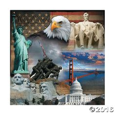 Patriotic Backdrop Banner
