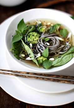 Pho-Inspired Noodle Bowl - homemade stock, excuse to buy more cardamom and fennel seed at Lotte Plaza.