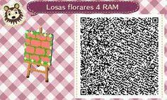 Este es un QR Code para Animal Crossing, creado por mí; como podéis observar, es una losa floral en color rosa. [4-17]  Lo podéis encontrar en mi canal de YouTube: https://www.youtube.com/channel/UCh6uwa2CjSgR4WQ-ghRQY6Q (Roxy).  ¡Espero qué os guste! ;)