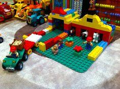 Farm stables & barn