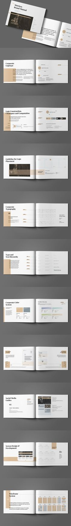Brand Manual Template More Brand manual ideas - it manual template