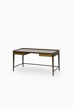 Frode Holm desk in rosewood by Illums Bolighus at Studio Schalling