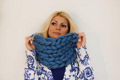 Oversized Scarf, Winter Scarf, Chunky knit scarf, Scarf, Merino Wool Scarf, Knitted Scarf, Merino Wool, Chunky knits, Infinity Scarf