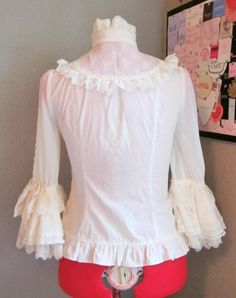 Angelic Pretty – Romantic Sweet Lacy Blouse « Lace Market: Lolita Fashion Sales and Auctions