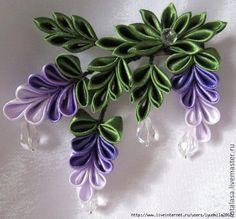 Wonderful Ribbon Embroidery Flowers by Hand Ideas. Enchanting Ribbon Embroidery Flowers by Hand Ideas. Ribbon Art, Diy Ribbon, Fabric Ribbon, Ribbon Crafts, Flower Crafts, Ribbon Flower, Cloth Flowers, Felt Flowers, Diy Flowers
