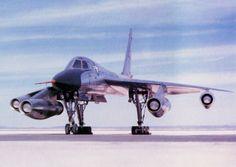 Convair B-58 Hustler (4 General Electric J-79 Engines with afterburners)