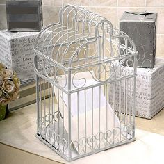 Wedding Bird Cage by Beau-coup. $48.89.