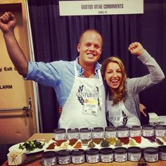 Venice-based LFLer Gustus Vitae at the SF Fancy Foods Show