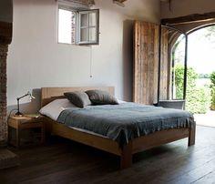 Azur Oak Bed   ETHNICRAFT   DomésticoShop