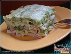 Rakott brokkolis penne Penne, Ravioli, Lasagna, Ale, Cabbage, Healthy Recipes, Vegetables, Cooking, Ethnic Recipes