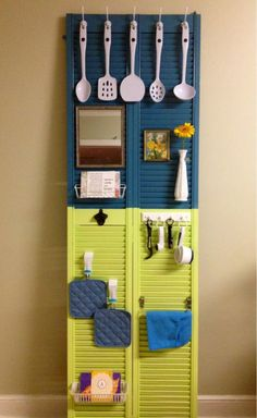 what to do with that old closet door