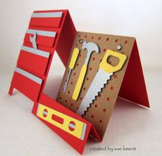 Tool Time for Fathers by Susiespotless - Cards and Paper Crafts at Splitcoaststampers