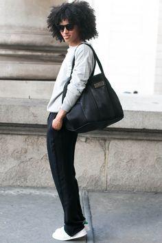 @adriennetmm Street Style