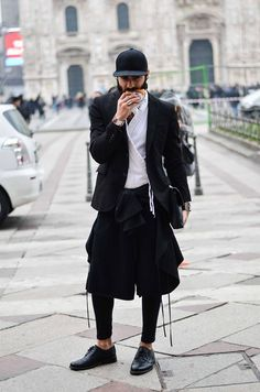 Style Of The Day: Sion Agami - MILAN FASHION WEEK. | Raddest Looks On The Internet: http://www.raddestlooks.net