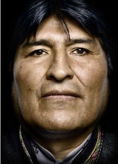 evo morales by platon antoniou. Juan Evo Morales Ayma, popularly known as Evo, is a Bolivian politician and cocalero activist who has served as President of Bolivia since 2006. Widely regarded as the country's first president to come from the indigenous population. He helped lift millions out of poverty by more equitably distributing natural gas revenues, spurring the creation of an indigenous middle class.