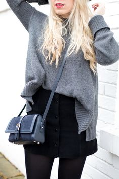 How to style a suede skirt - Mediamarmalade