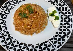 Τεμπέλικα Γεμιστά συνταγή από Ευη - Cookpad Risotto, Grains, Rice, Ethnic Recipes, Food, Essen, Meals, Seeds, Yemek
