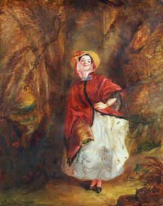 Character Visualization: Eugenia Deane (Dolly Varden by William Powell Frith)