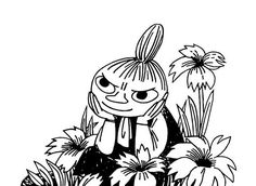 Moomin – wall murals, wallpapers, and canvas prints – Photowall Moomin Tattoo, My Canvas, Canvas Prints, Little My Moomin, Moomin Wallpaper, Tove Jansson, Print Pictures, Manga Art, Female Art