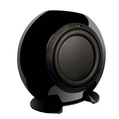 bowers and wilkins home theater speaker system with pv1d subwoofer. kef htb2bl (se) powered subwoofer (black) bowers and wilkins home theater speaker system with pv1d l