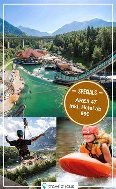 Innsbruck, Disneyland Paris, Area 47, Wakeboard, Abs, Outdoor, Activities, Adventure, Mountains
