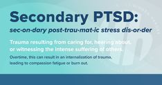 Ptsd, Trauma, Compassion Fatigue, Military Spouse, Disorders, Burns, First Love, Foundation, Stress