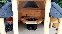 #barbecue#grill#kota ouvert  Constructeur , livraison, montage sur toute la France. Venez faire un tour sur notre site ;)  http://www.hietala-aventure-loisirs.com/