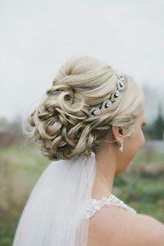Wedding headpiece ▪ ELSIE Rhinestone Headband by BrassLotus ▪ Tiara Elsie rhinestone de BrassLotus