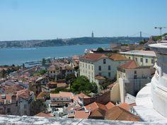 view from Church of Santa Engrácia Lisbon