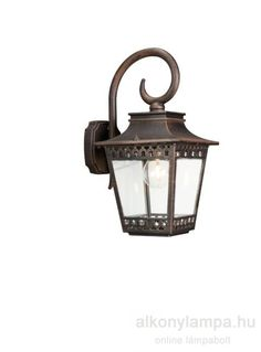 ISTANBUL - kültéri fali - rusztikus - MASSIVE 15401/86/10 Outdoor Lighting, Istanbul, Exterior Lighting