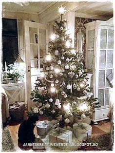 Jannes kreative verden: Naturlig og hvit jul:))))