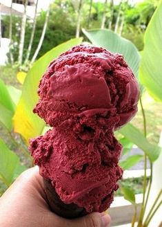 This red velvet ice cream will thrill your tastebuds. 29 Next-Level Ice Cream Treats You Can Make At Home This Summer Ice Cream Treats, Ice Cream Desserts, Frozen Desserts, Ice Cream Recipes, Frozen Treats, Ice Cream Flavors, Yummy Ice Cream, Make Ice Cream, Ice Cream Maker