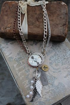 Clockmaker necklace by HaveFaithDesigns on Etsy