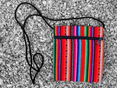 Purse decorated with aguayo