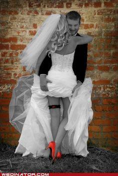 LOVE this wedding shot!