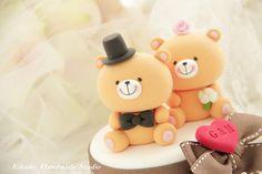 LoveyBear cake toppper..How Cute!