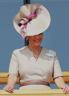 The Countess of Wessex, June 19, 2013 | The Royal Hats Blog