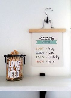 laundry printable | in my studio