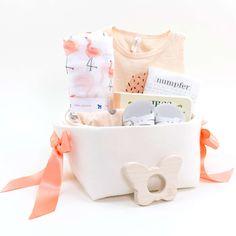 Sweet Baby Gift Basket - Vanilla Ice Cream – Bonjour Baby Baskets - Luxury Baby Gifts