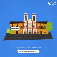 #BudgetHotel OYO Rooms now in #Pondicherry