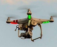imagem aérea de drone Aeronáutica