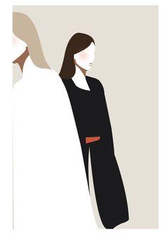 Mathilde Crétier – Art Drawing Tips Graphic Design Illustration, Digital Illustration, Flowers Wallpaper, Poster Photo, Art Watercolor, Grafik Design, Minimalist Art, Illustrations And Posters, Aesthetic Art