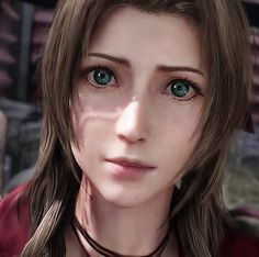 final fantasy aerith #finalfantasy #aerith Final Fantasy Girls, Final Fantasy Vii Remake, Cloud And Tifa, Cloud Strife, One Image, Video Game Art, Promised Land, Cosplay, Clouds