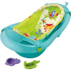 Fisher Price Rainforest Friends Tub, Green. Received. Thanks, Cassie and Tank.