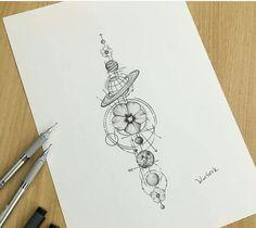 Geometric Tattoos, Line Tattoos, Compass Tattoo, Fashion Trends, Triangle, Tattoo Ideas, Geometry Tattoo