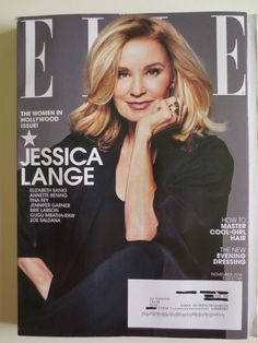 November 2014 cover with Jessica Lange