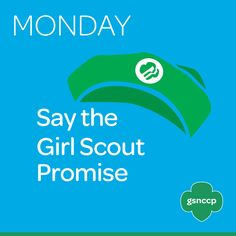 We don't know about you...but we think Girl Scout Week is the BEST week of the year! Join us for our third annual Girl Scout Spirit Week where each day has a designed activity or event to celebrate all things Girl Scouts.  To kick us off, today's Girl Scout Spirit Week Activity is to recite the Girl Scout Promise (and Law!). Open or close a troop meeting by reciting this together or say it when you get home from work/school. It's a wonderful way to unite us all and remind us of our core…