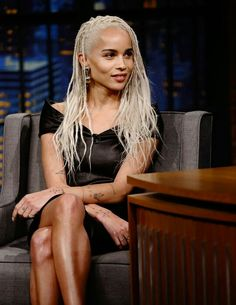 Zoe Kravitz blonde & always beautiful Zoe Kravitz Style, Lenny Kravitz, Lisa Bonet, Afro Punk, Beautiful Black Women, Beautiful People, Zoe Kravitz Braids, Twists, Zoe Isabella Kravitz