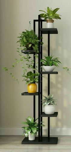 House plants decor – Online Shop Standing flower shelf Living room & balcony Plant shelf flower pot stands with wood plant Aliexpress Mobile – House Plants Balcony Plants, House Plants Decor, Indoor Plants, Indoor Plant Stands, Living Room Plants Decor, Indoor Plant Shelves, Garden Shelves, Balcony Flowers, Indoor Herbs