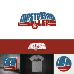Retro Logo for Airstream Classified website by SKAVolta